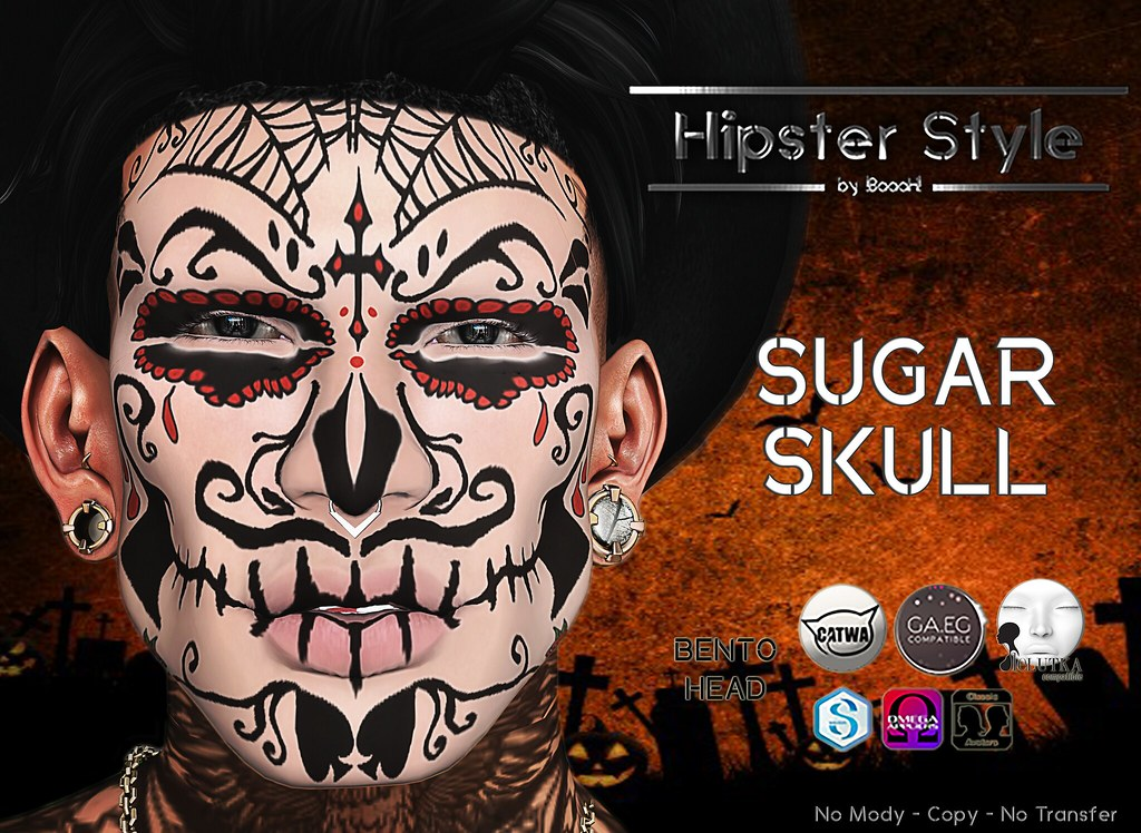 [Hipster Style] SUGAR SKULL - TeleportHub.com Live!