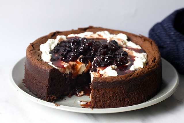sunken black forest cake
