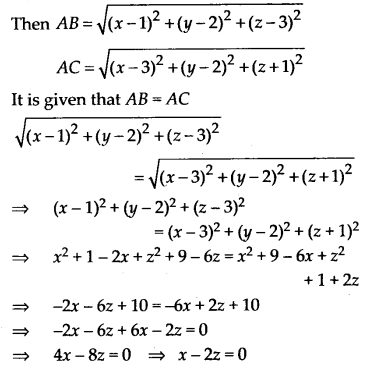 NCERT Solutions for Class 11 Maths Chapter 12 Introduction to Three Dimensional Geometry 5