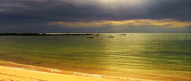 Clouds over Port Clinton, Yorke Peninsula, South Australia