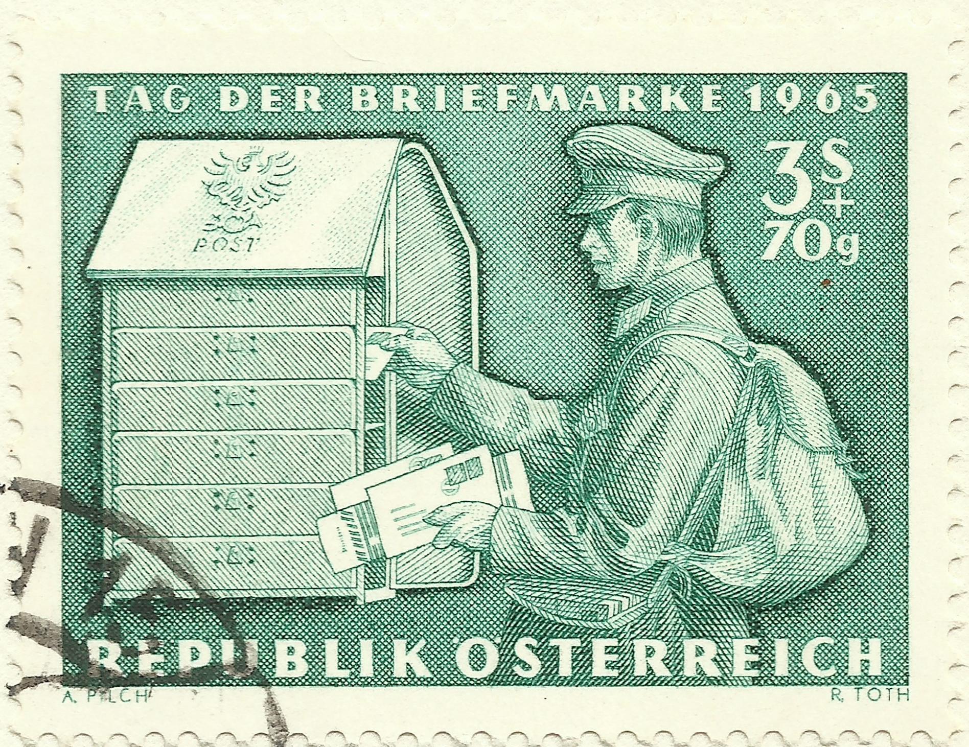 Austria - Scott #B321 (1965)
