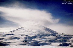 Mount Erebus, seen from McMurdo Sound, Antarctica ~January 2018