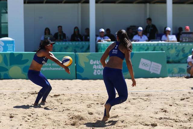 Primera presentación de Guatemala del voleibol de Buenos Aires 2018