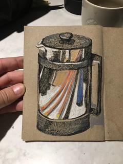Killing time at Starbucks #urbansketching #urbansketchers #uskcostarica #drawing #draw