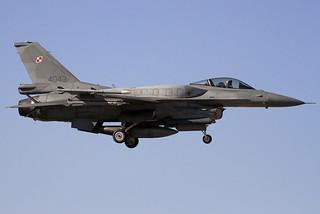 4043. F-16C. Poland AF. LEAB.
