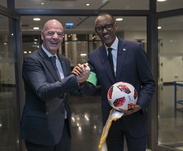 Dinner with FIFA Council Members | Kigali, 25 October 2018