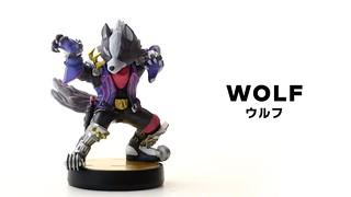 『大乱闘スマッシュブラザーズSPECIAL』amiibo「ウルフ」