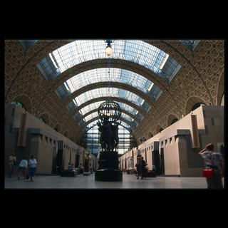 Paris, Gare D'Orsay, 1990 (really)