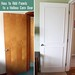 Decor Hacks : How to dress up hollow flat doors with moulding panels. This is an easy DIY proj...