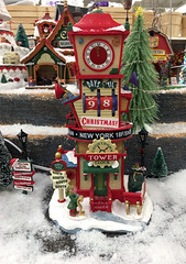 Christmas village for sale at Michaels