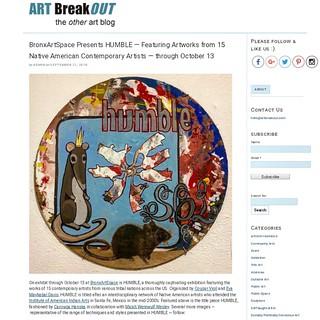 HUMBLE Presents 15 Native American Artists at BronxArtSpace