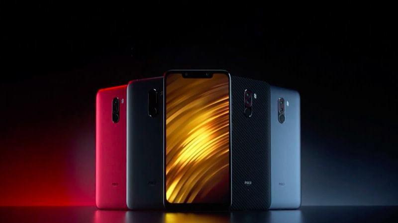 Smartphone Xiaomi Pocophone F1 hadir dalam berbagai warna desain.
