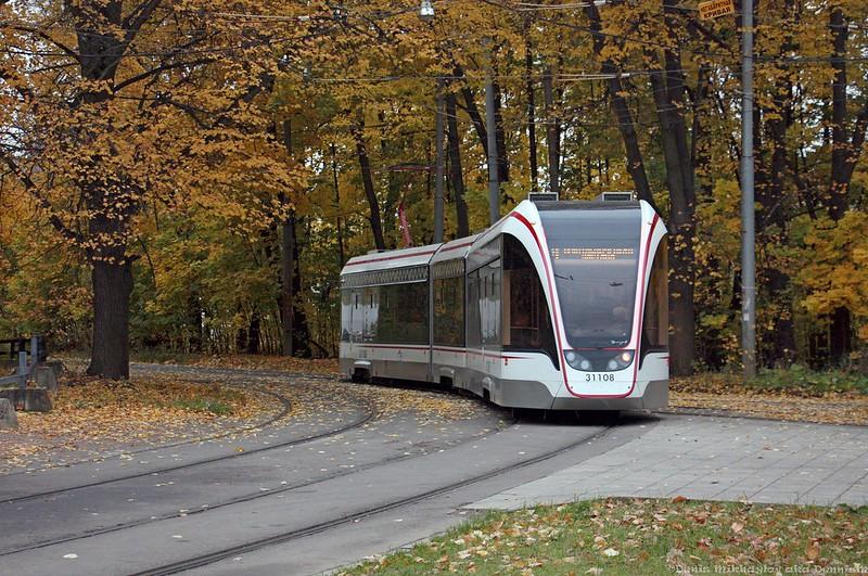 Трамвай 71-931М «Витязь-М» №31108.