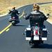 6. Moteros a lomos de Harleys en la Costa Oeste de EEUU