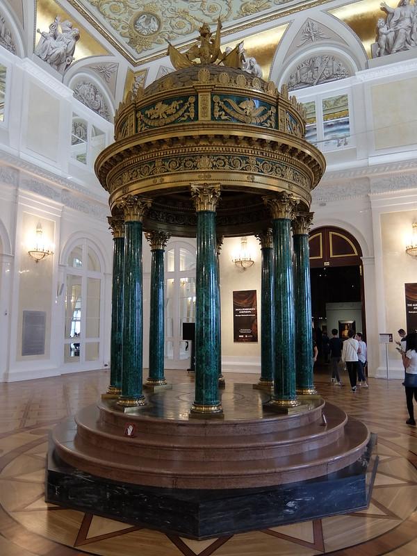 Санкт-Петербург - Эрмитаж - Малахитовый павильон