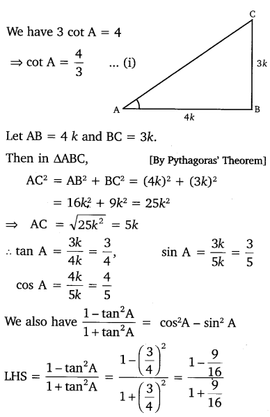 NCERT Solutions for Class 10 Maths Chapter 8 Introduction to Trigonometry 12