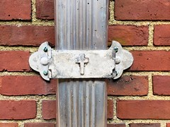 Downspout On The Rectory