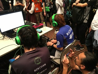 Handsome Orikasa streaming Xian vs. Machabo