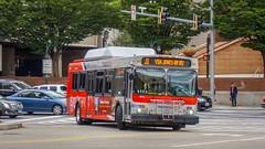WMATA Metrobus 2005 New Flyer DE40LF #6031
