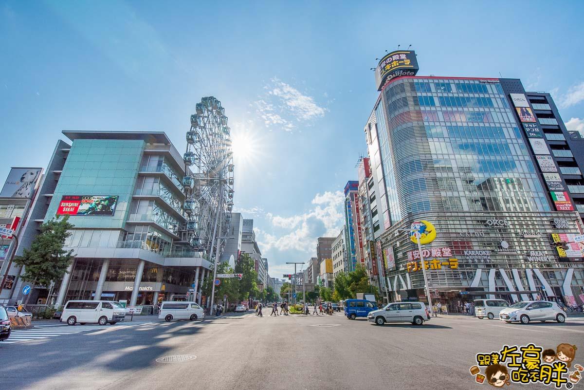名古屋自由行-名古屋電視塔+宇宙船綠洲21