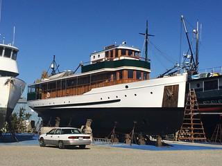 IMG_6274 - Port Townsend WA - Shipyard - MY DISCOVERY (1931)