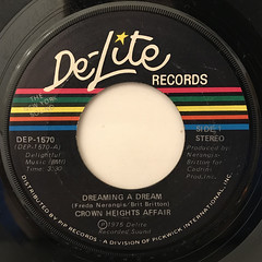 CROWN HEIGHTS AFFAIR:DREAMING A DREAM(LABEL SIDE-A)