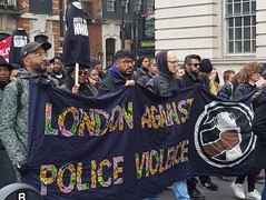 London Against Police Violence @ UFFC Rally London 2018 - Image credit Dave Springer
