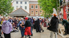 YMPST waggon play performance, St Sampson's Square, 16 September 2018 - 03
