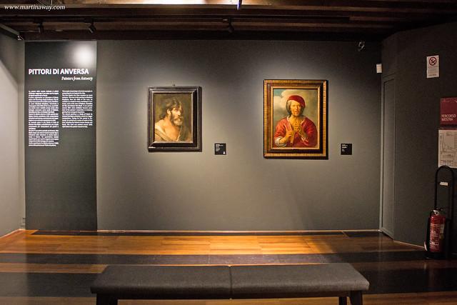 Studio di Testa di Antoon Van Dyck e Suonatore di flauto di Jacob Jordaens