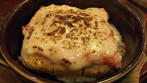 肉系居酒屋 肉十八番屋 明太チーズ出汁巻玉子
