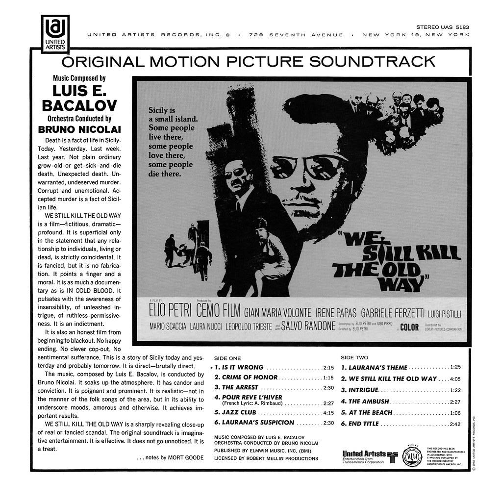 Luis Bacalov - We Still Kill The Old Way