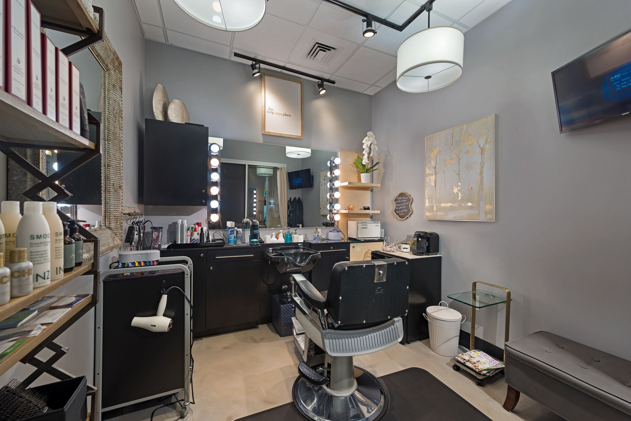 iStudio Salons Southport Fort Lauderdale Interior Studio
