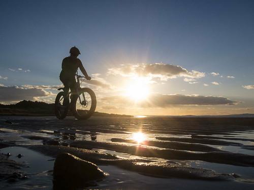 Fat Bike Sunset
