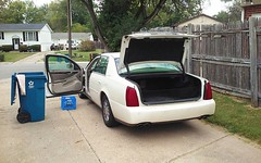 10/1/2018 #Goodbye #ThanksForTheMemories #Cadillac #NorthStar #V8  #Deville #DHS #Car #Girlfriend #Sad #Insta #Monday  It was a little bit harder than I thought to *let go* of #PearlJackson (especially as I cleared out my belongings) and she purred her wa