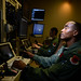 Maj. Bishane, a 432nd Aircraft Maintenance Squadron MQ-9 Reaper pilot, controls an aircraft from Creech Air Force Base, Nevada. Remotely piloted aircraft pilots work closely with intelligence officers, sensor operators and maintainers to complete mission objectives. RPA personnel deal with the stressors of a deployed military service member while maintaining the normalcy of a day-to-day life through programs designed to enhance communication skills, family and spiritual growth. (U.S. Air Force photo by/Staff Sgt. Vernon Young Jr.)