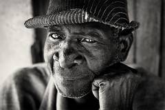 Malawi, village chief