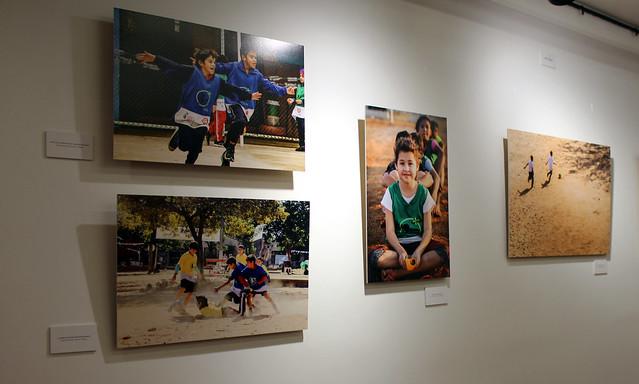 Inauguración expo #NoSóloEsFútbol en Sala Cable al Arte