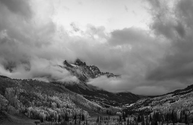 Cloud Swept Sneffels Range, Nikon D600, AF Nikkor 50mm f/1.8