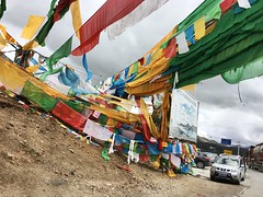 Scripture flags - Tibet
