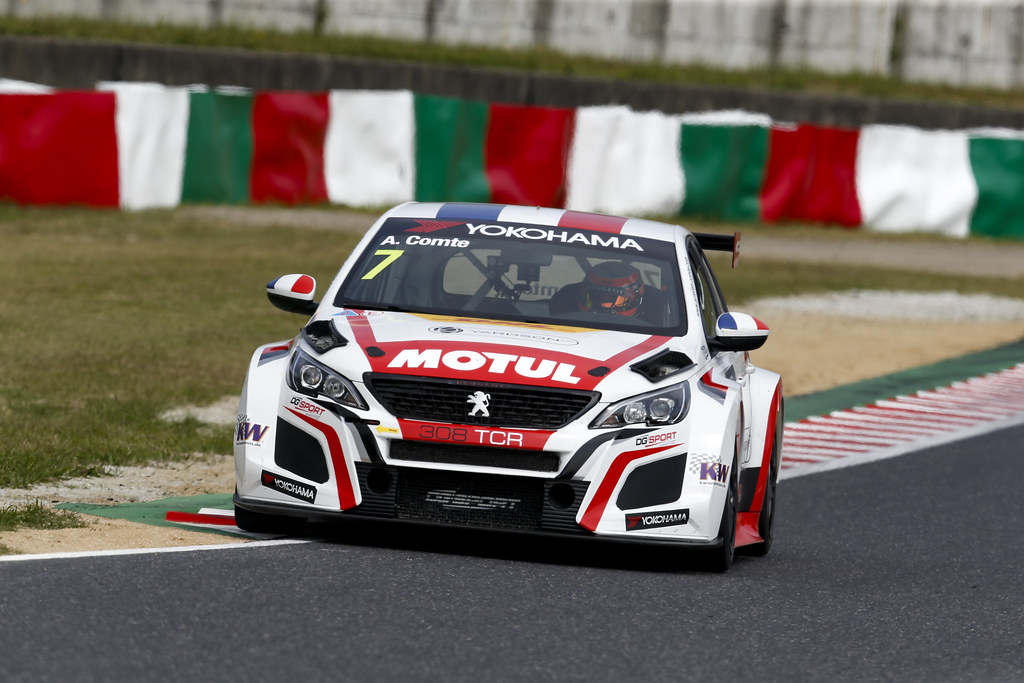 07 COMTE Aurelien, (fra), Peugeot 308 TCR team DG Sport Competition, action during the 2018 FIA WTCR World Touring Car cup of Japan, at Suzuka from october 26 to 28 - Photo Clement Marin / DPPI