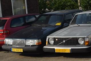 Volvo 940 1991 en Volvo 244 GT Automatic 1978