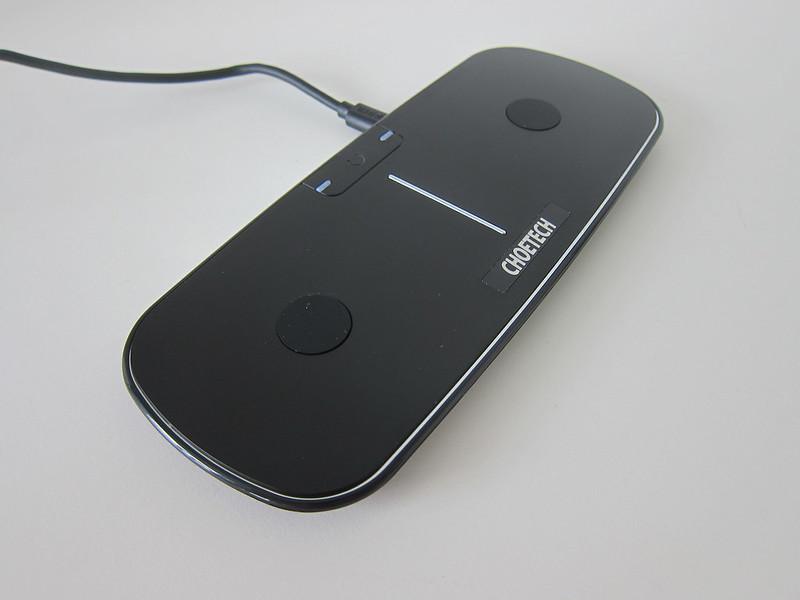 Choetech Dual Wireless Charging Pad