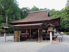 Photo:Mikami Shrine (御上神社) worship hall By Greg Peterson in Japan