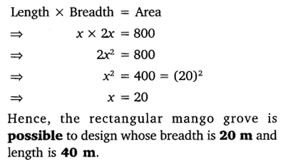 NCERT Solutions for Class 10 Maths Chapter 4 Quadratic Equations 45
