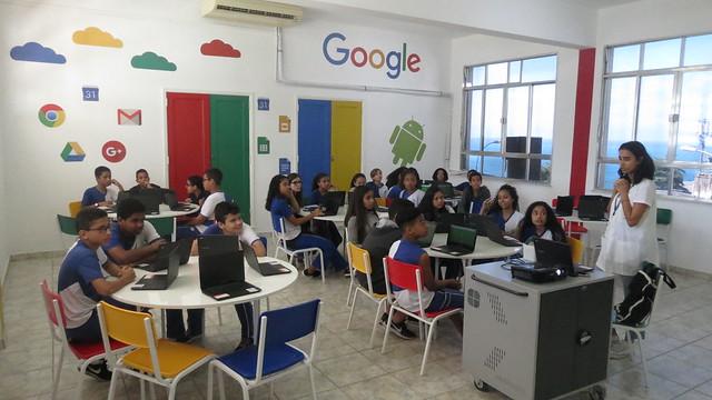 Sala Google ProfªJuliana
