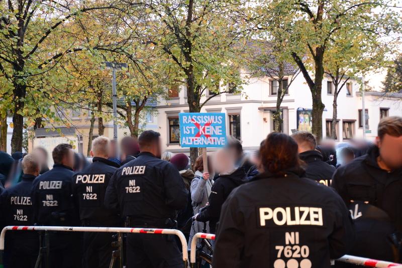Proteste gegen den AfD-Landesparteitag