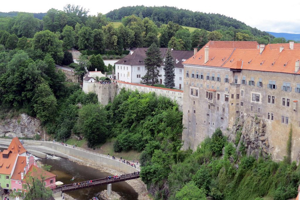 Крумловский замок.