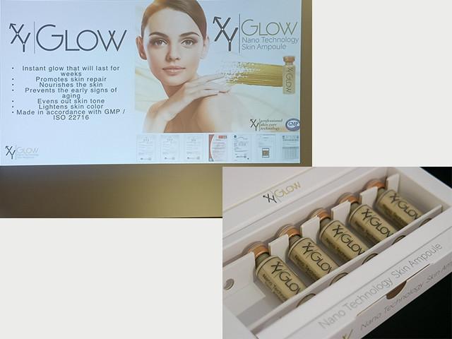 xy glow collage