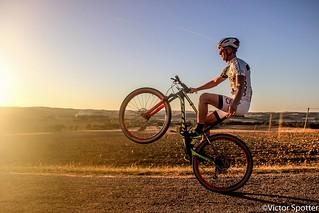 Shooting Mountain Bike