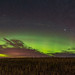 Thanksgiving Harvest Aurora Panorama #1